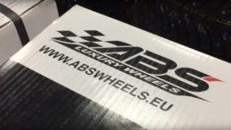 Unboxing av alu-fälgen ABS302 B-P från ABS Wheels. Produktrecension av Däckstop GMG Motor AB
